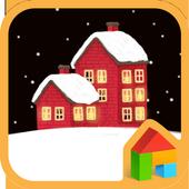 Winter Night 도돌런처 테마 icon