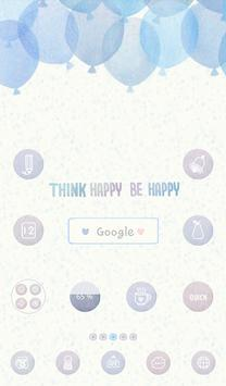think happy be happy poster