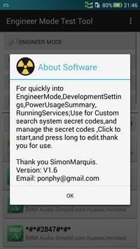 Development Settings screenshot 2