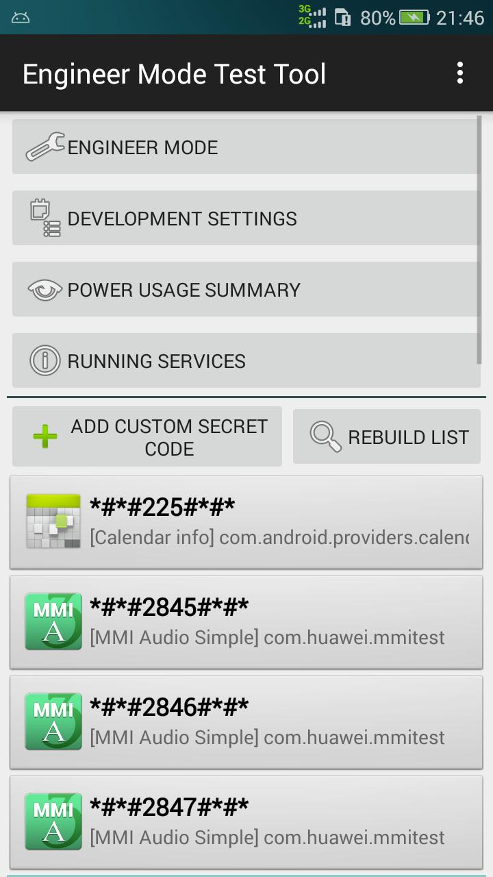 Engineer Mode Test Tool for Android - APK Download