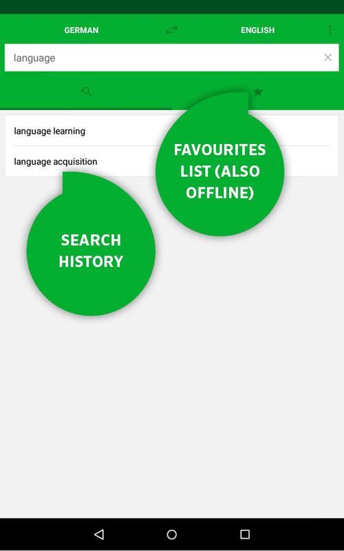 dictionary dari to english free download