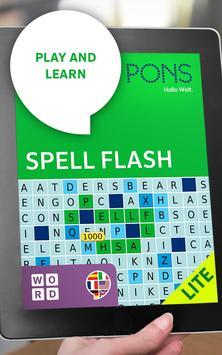 PONS SpellFlash Lite apk screenshot