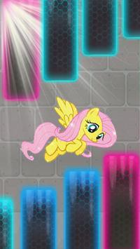 MY little princessa  pony fly poster
