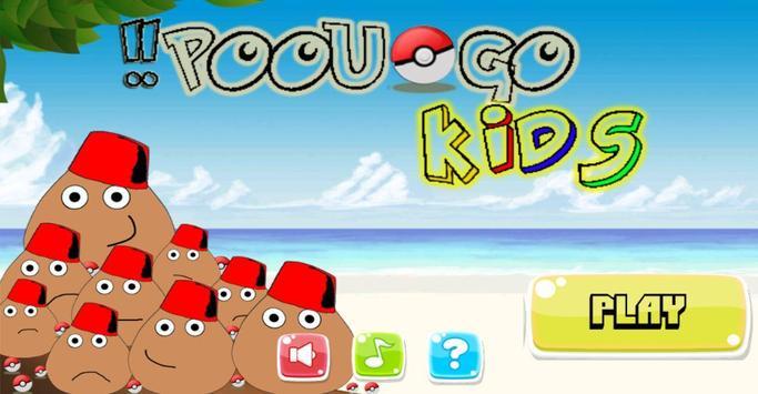 Poou Go : kids poster