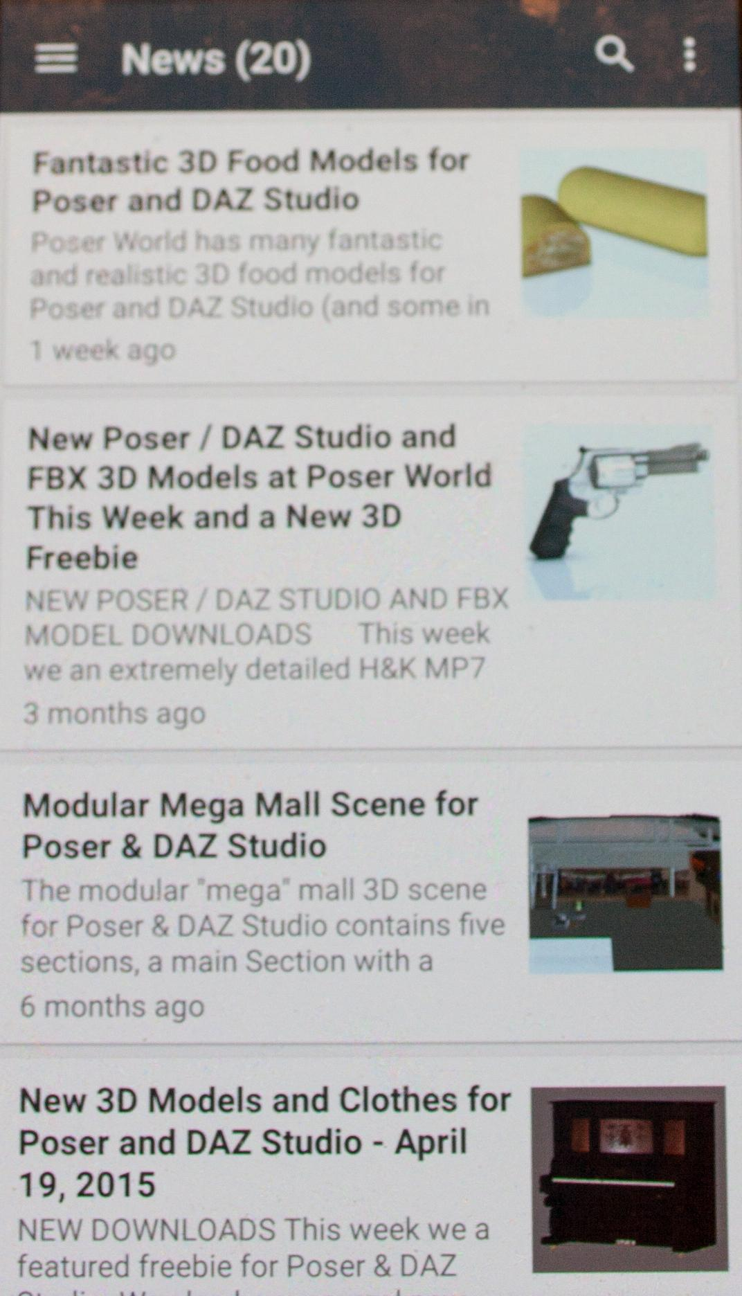 Poser World 3D for Android - APK Download