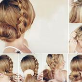 Пошаговое плетение кос icon