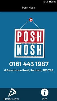 Posh Nosh, Reddish poster