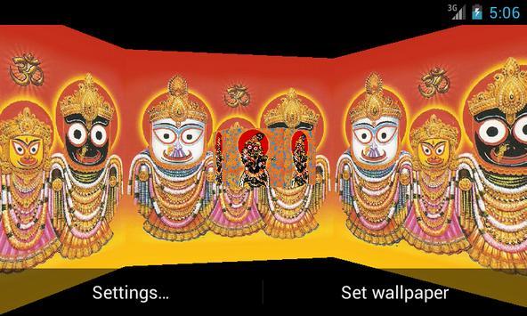 Jagannath Ji 3D Live Wallpaper apk screenshot