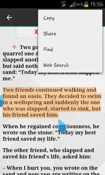 Positive Stories apk screenshot