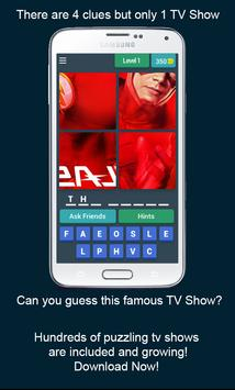 Guess the Famous TV Shows poster