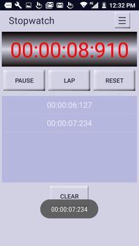 Stopwatch Timer screenshot 2