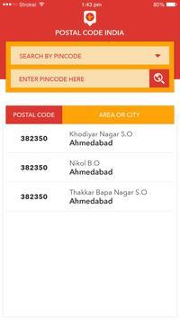 Postal Code India screenshot 1