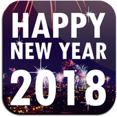 New Year Photo Poster Frame icon