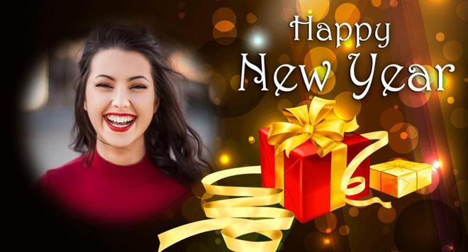 New Year Photo Poster Frame screenshot 2