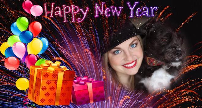 New Year Photo Poster Frame screenshot 5