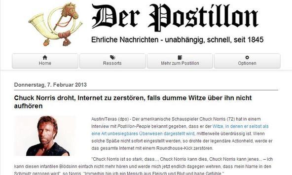 Der Postillon apk screenshot