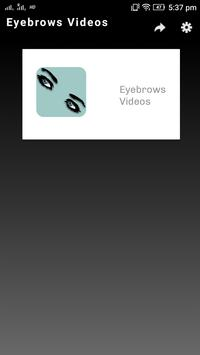Eyebrows Videos Plakat