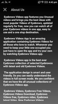 Eyebrows Videos Screenshot 2