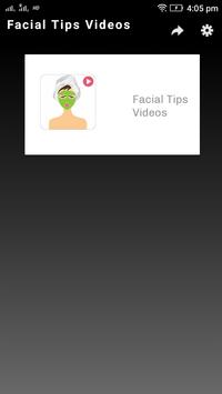 Facial Tips Videos poster