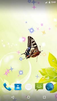 Butterfly Live Wallpaper screenshot 4