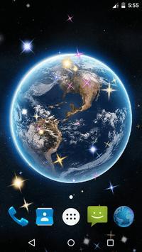 Earth Live Wallpaper screenshot 5