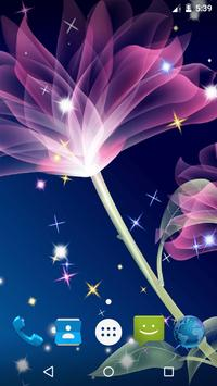 Magic Flowers Live Wallpaper screenshot 4