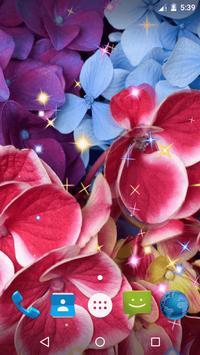 Magic Flowers Live Wallpaper screenshot 5
