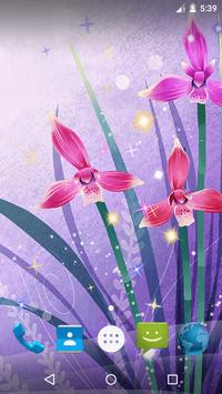 Magic Flowers Live Wallpaper screenshot 6