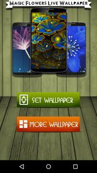 Magic Flowers Live Wallpaper poster