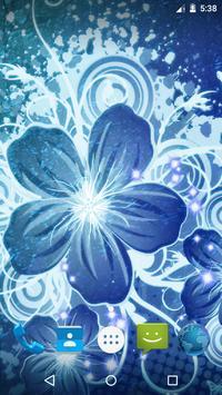 Magic Flowers Live Wallpaper screenshot 1