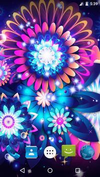 Magic Flowers Live Wallpaper screenshot 2
