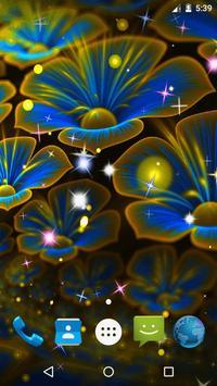 Magic Flowers Live Wallpaper screenshot 3