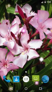 Oleander Live Wallpaper screenshot 3