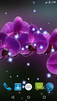 Orchid Live Wallpaper screenshot 2
