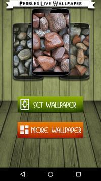 Pebbles Live Wallpaper poster