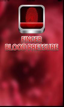 Blood pressure finger prank3 poster