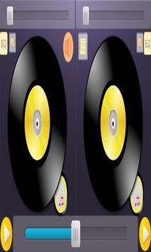 Free music by mixer DJ poster