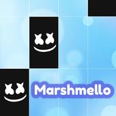 Marshmello Friends Piano White Tiles 2 icon