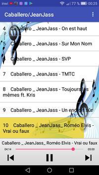Caballero & JeanJass أغاني screenshot 2