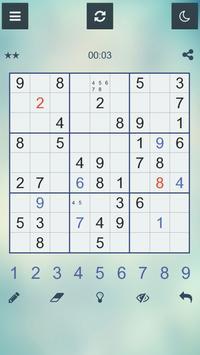 Sudoku Q - Klassisches spiel apk screenshot