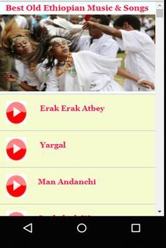 Best Old Ethiopian Music & Songs apk screenshot
