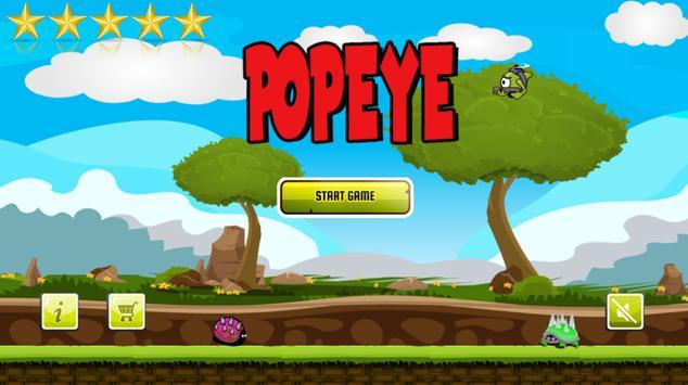 Popaye - Spinach Adventure screenshot 4