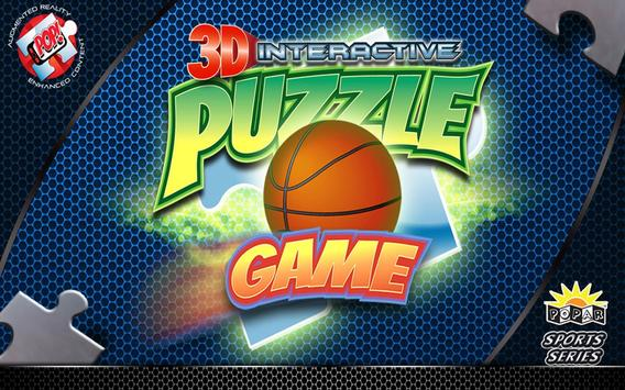 Popar Basketball Puzzle poster