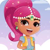 Shimmer magic party icon