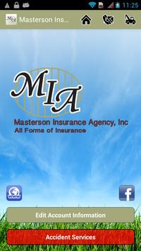 Masterson Insurance Agency poster