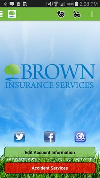 Brown Insurance Services poster