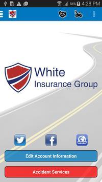 White Insurance Agency poster