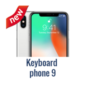 Keyboard phone 9 icon