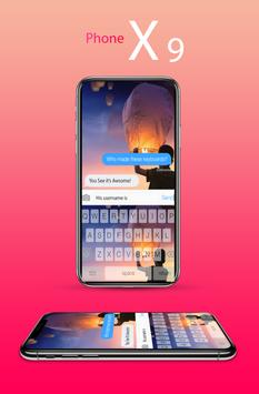 Keyboard phone 9 poster
