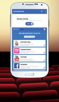 Popcorn VPN apk screenshot